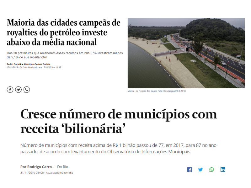 O Globo e Valor