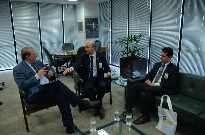 FPM e Fundef pautam audiência entre Aroldi e ministro Nardes