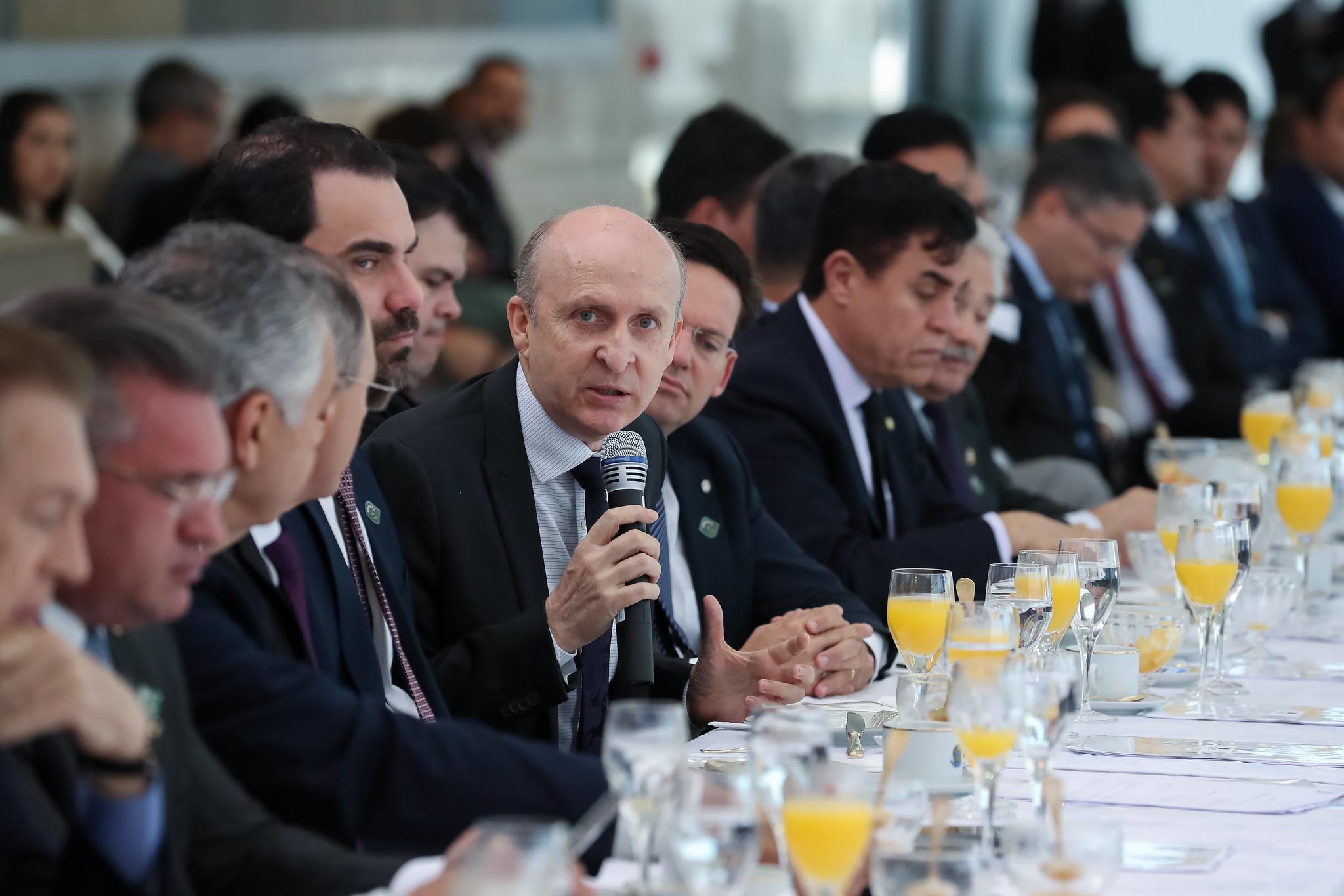 CNM participa de reunião com bancada nordestina e presidente da República