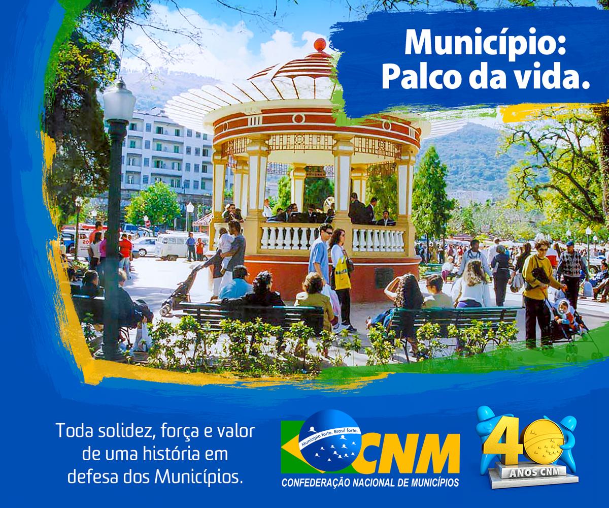 Campanha de 40 anos da CNM