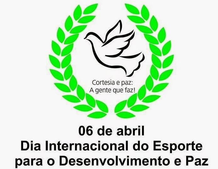 06042018 Dia Internacional do Esporte para o Desenvolvimento da Paz