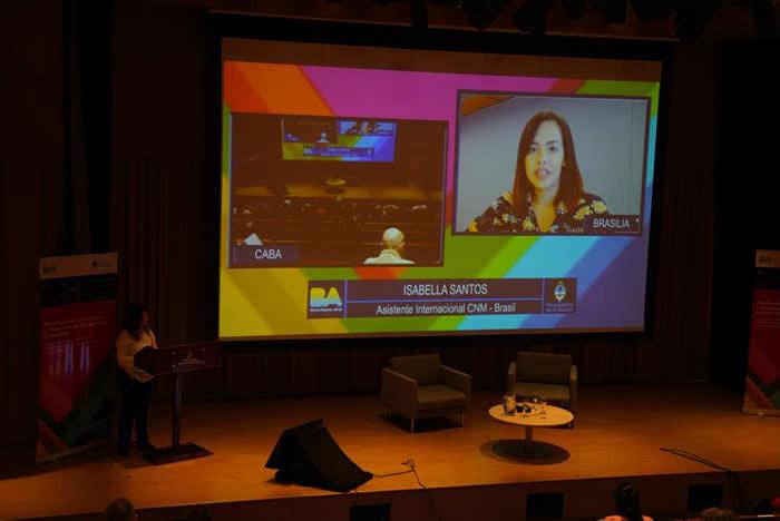 Ações da CNM em ODS são compartilhadas na Argentina