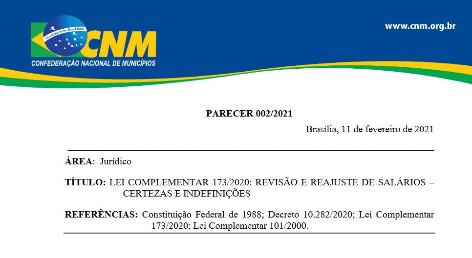 12022021 PARECER CNM JURIDICO