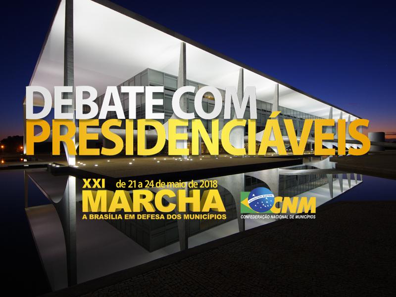 XXI Marcha a Brasília recebe oito pré-candidatos nos dias 22 e 23 de maio