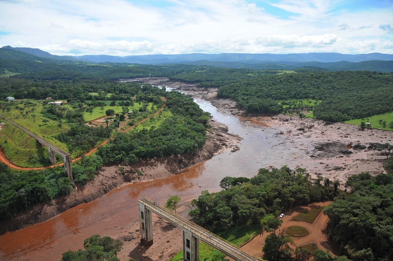 Abastecimento de água em Brumadinho e Municípios da região fica comprometido