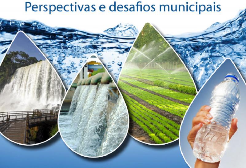 Cartilha sobre águas e os desafios municipais está disponível em formato digital