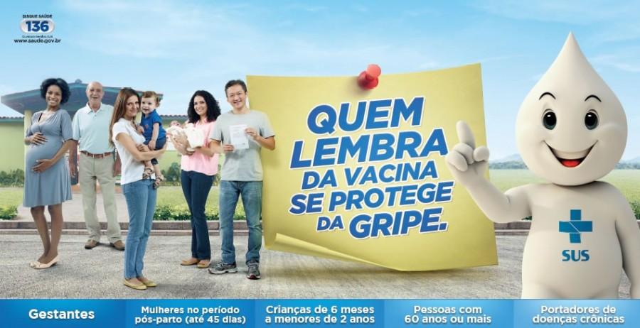 Municípios devem participar do dia D de vacinação contra gripe