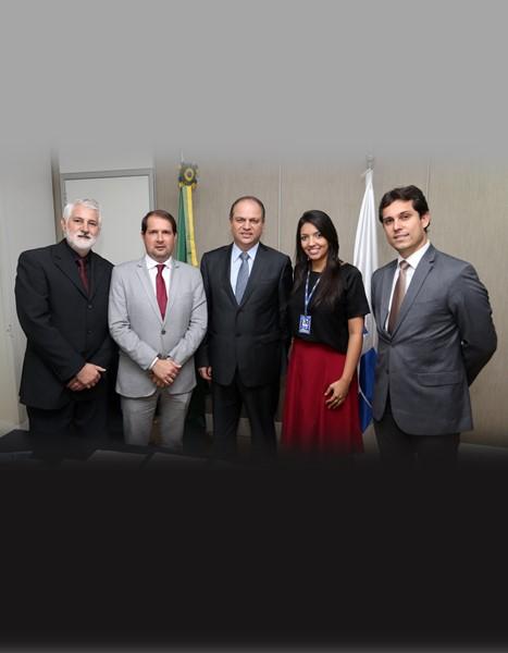 Ministro da Saúde recebe pleitos municipalistas e confirma presença na Marcha a Brasília