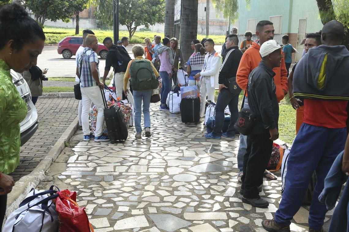 14052019 migrantes venezuelanos ebc