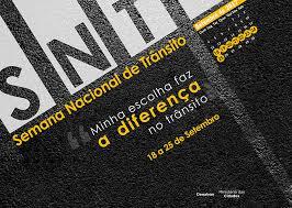 Semana Nacional de Trânsito começa com mobilização pelo brasão do Município na placa Mercosul