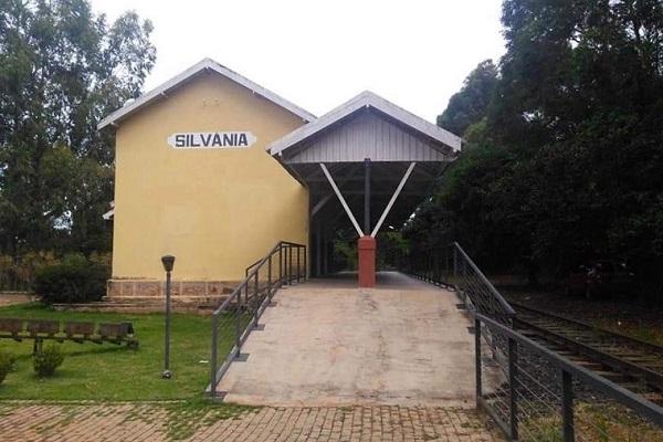 Estação de Trem Prefeitura de Silvânia Divulgação MTur