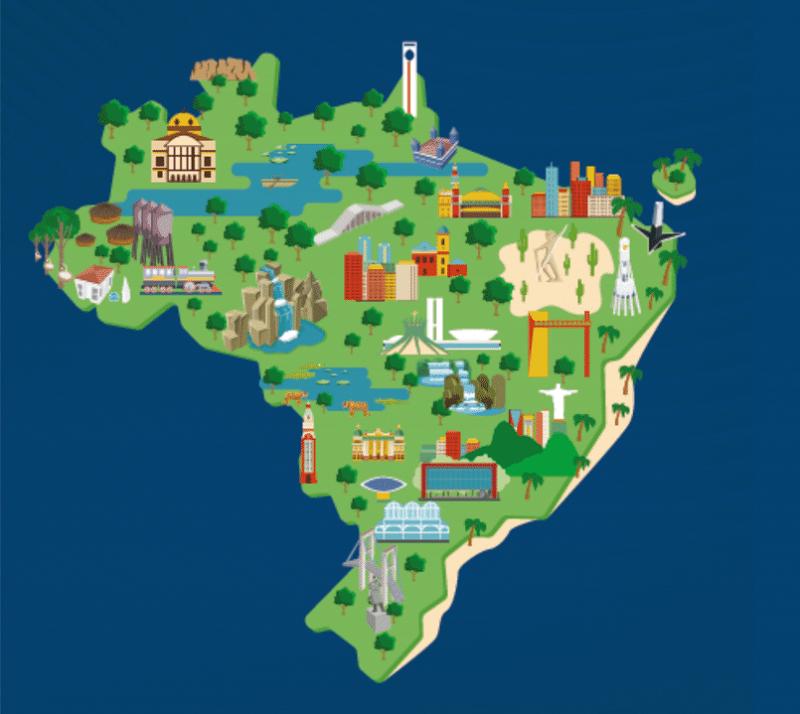 25102018 mapa turismo ilustracao