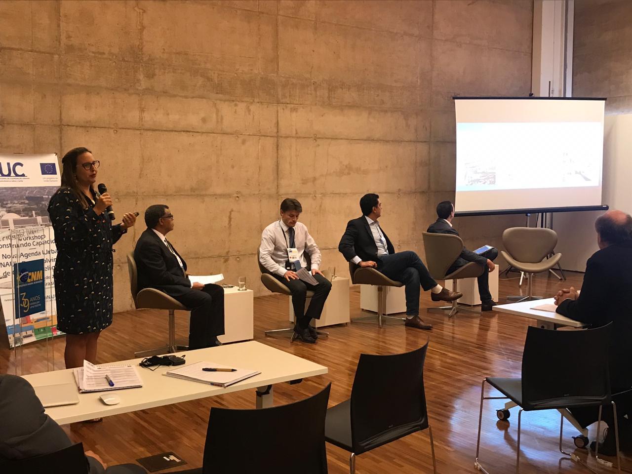 Boas práticas municipais ganham destaque em workshop internacional